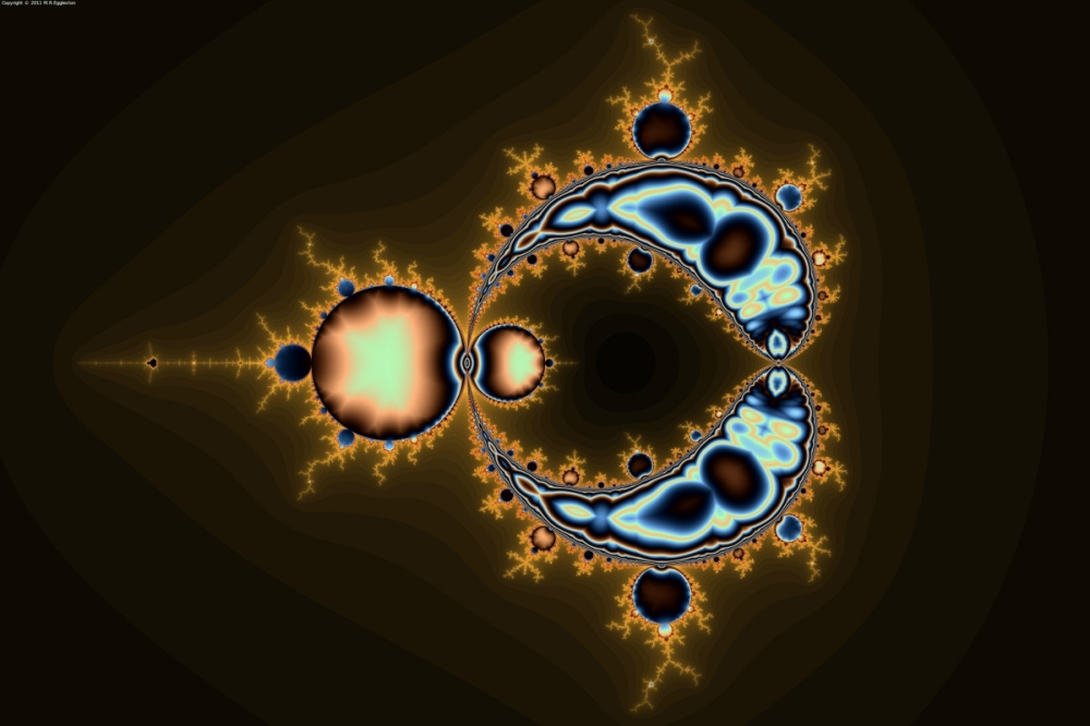 Hollowed Out Mandelbrot