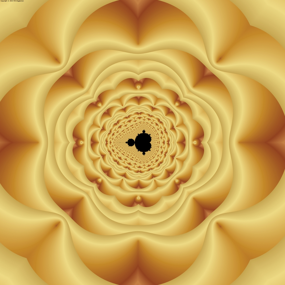 Cushioned Mandelbrot No. 1