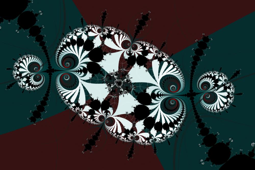 Mandelbrot and Millipedes No. 3