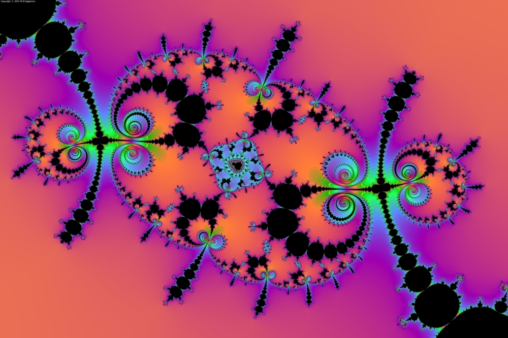 Mandelbrot and Millipedes No. 4