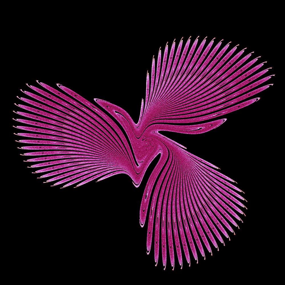 A Gumowski-Mira fractal at 1000x1000