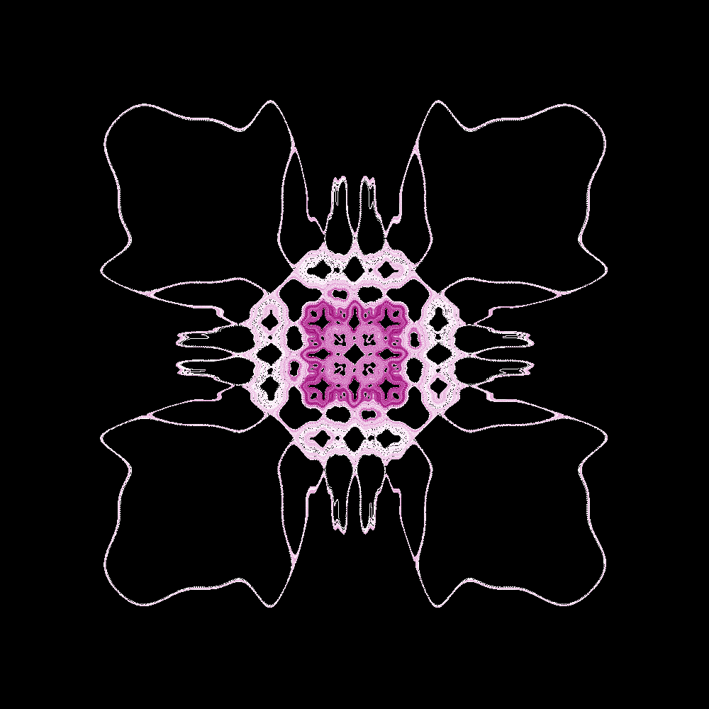 A Chip fractal at 1000x1000