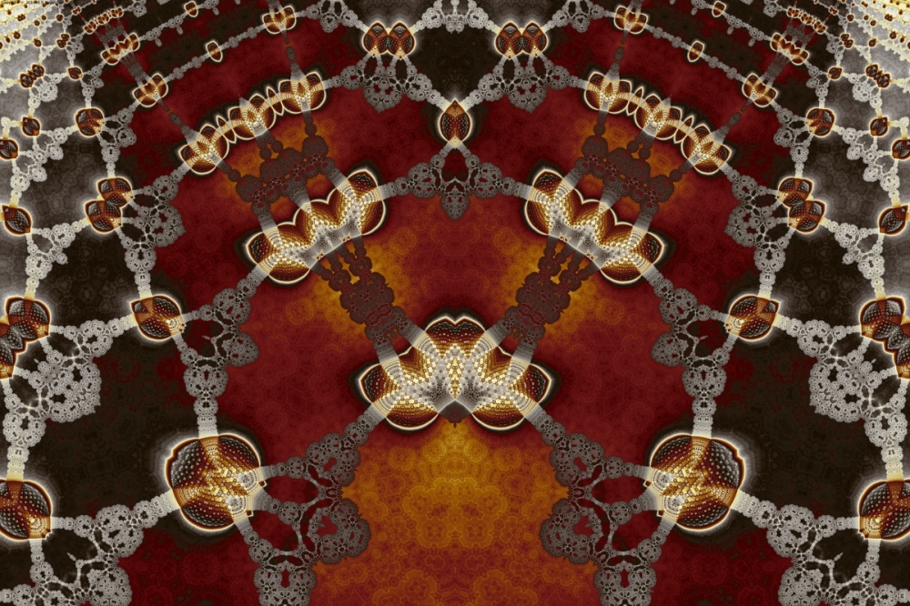 Lace and Golden Lanterns No. 2