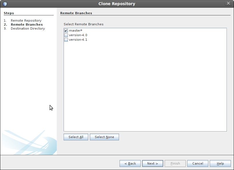 Cloning a repository step 3