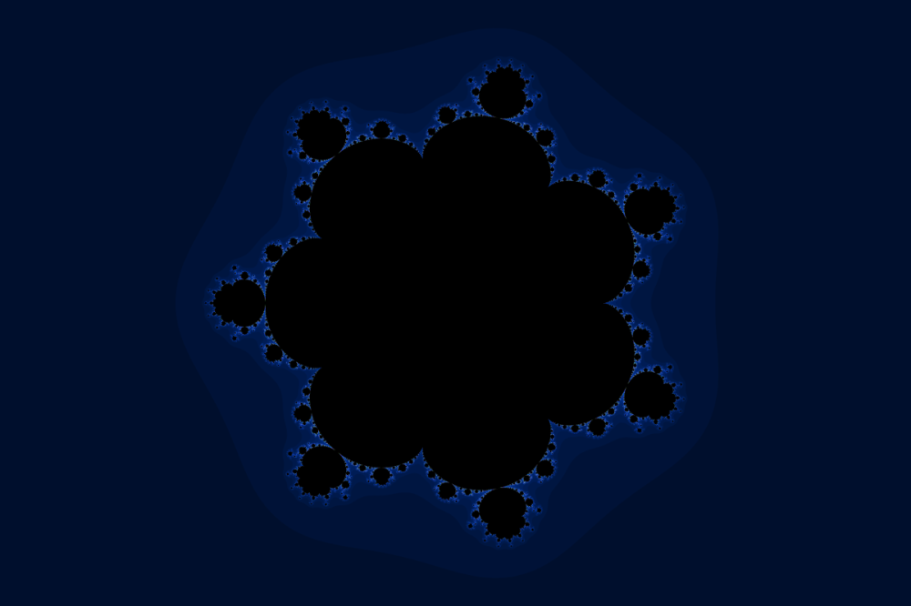 Eighth power Mandelbrot
