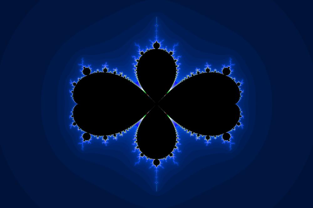 α= (1 + 0i) × c, β = (-1 + 0i)
