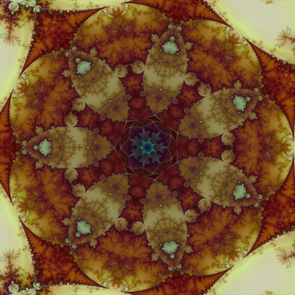 Autumnal Mandelbrots