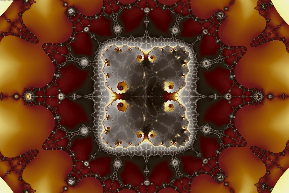 Transformed Mandelbrot Byways No. 3