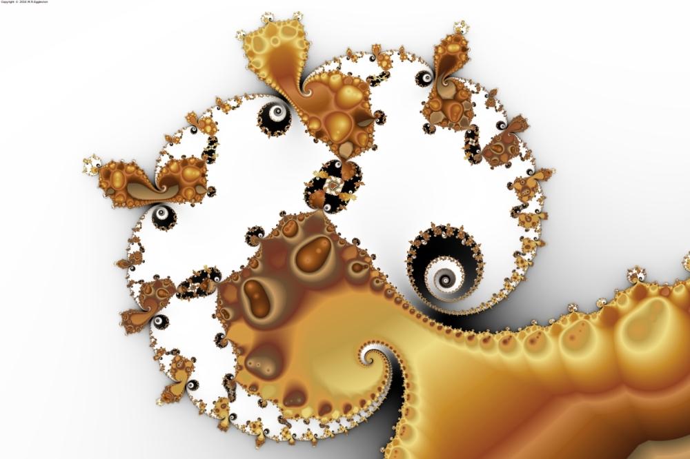 Butterscotch Spirals and Mandelbrot