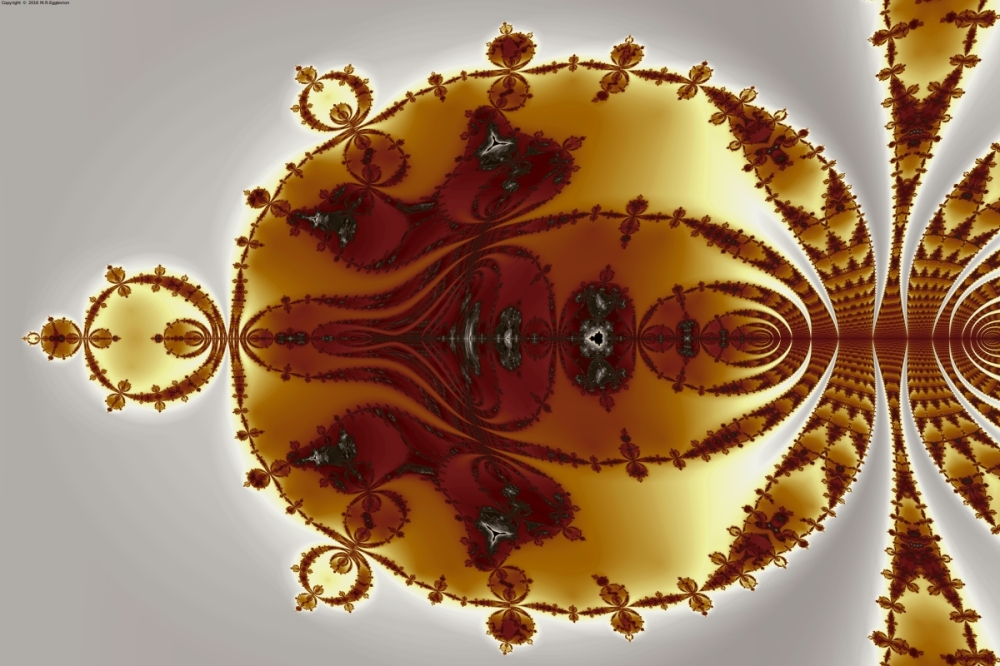 Tricorns Mandelbrot Enclosed