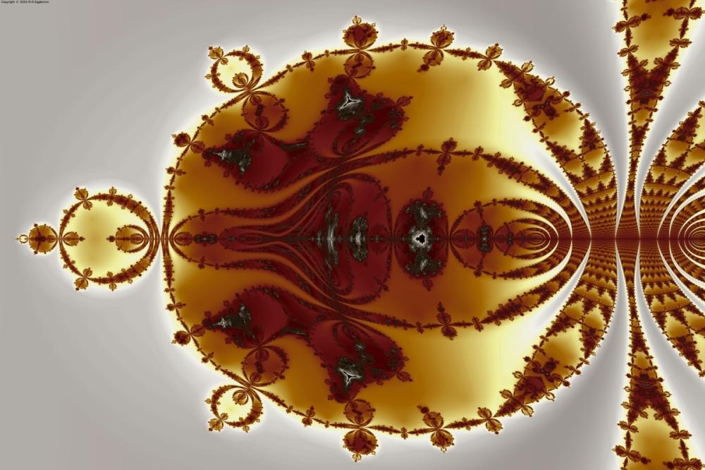 Tricorns Mandelbrot Enclosed