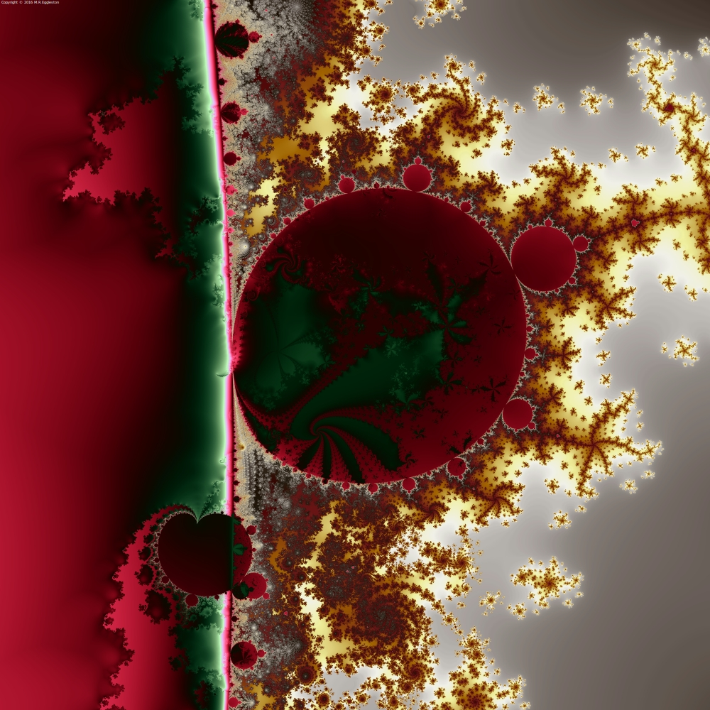 Mandelbrot at the Edge No. 1